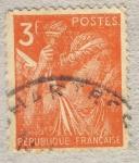 Sellos de Europa - Francia -  Iris
