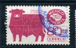 Stamps of the world : Mexico :  ganado y carne