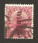 Stamps New Zealand -  figura alegórica