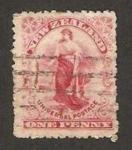 Stamps : Oceania : New_Zealand :  figura alegórica
