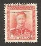 Stamps : Oceania : New_Zealand :  jorge VI