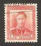 Stamps : Oceania : New_Zealand :  jorge VI