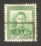 Stamps New Zealand -  jorge VI
