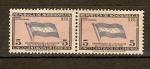 Stamps Honduras -  BANDERA  DE  HONDURAS