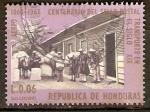 Sellos de America - Honduras -  CORREO  TRANSPORTADO  EN  MULAS