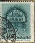 Stamps Hungary -  Hungria 1939 Scott 538 Sello Corona de San Esteban usado Magyar Posta M-599 Ungarn Hungary Hongrie U