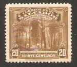 Stamps America - El Salvador -  extraccion del bálsamo