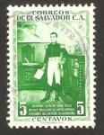 Sellos del Mundo : America : El_Salvador : general manuel jose arce