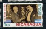 Stamps America - Nicaragua -  la copa mundial