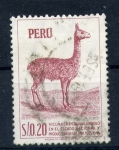 Stamps of the world : Peru :  vicuña