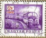 Sellos de Europa - Hungría -  Hungria 1973 Scott J271 Sello º Servicio Postal Tren Correo diesel Hongrie Magyar Posta Ungarn Hunga