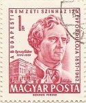Stamps Hungary -  EGRESY GABOR 1808-1855