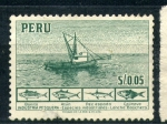 Stamps of the world : Peru :  industria pesquera
