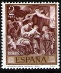 Sellos de Europa - España -  Dia del sello. Alonso Cano.Sagrada Familia.