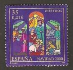Stamps Spain -  3769 - Navidad 2000, Belen