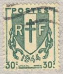 Stamps France -  Chaînes brisées