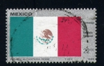 Stamps Europe - Mexico -  bandera de mexico