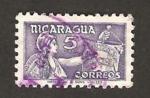 Stamps : America : Nicaragua :  asistencia social
