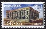 Sellos de Europa - España -  Europa- C.E.P.T. Bloque e letras.
