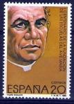 Stamps Spain -  I Centenario de la Fundación de las Escuelas del Ave María. Padre Manjón, fundador.