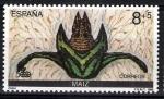 Stamps Spain -  V centenario del Descubimiento de América. Encuentro de dos Mundos.Maiz.