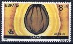 Sellos de Europa - España -  V centenario del Descubimiento de América. Encuentro de dos Mundos.Cacao.