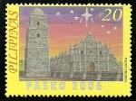 Stamps Philippines -  Iglesias barrocas,iglesia Paoay