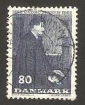 Sellos del Mundo : Europa : Dinamarca : georg jensen, orfebre, centº de su nacimiento