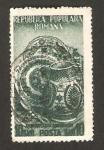 Stamps : Europe : Romania :  orfebreria rumana