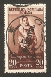 Stamps : Europe : Romania :  Traje popular rumano