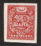 Stamps : Europe : Ukraine :  43 - cifra