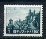 Sellos del Mundo : Europa : San_Marino : serie- Turismo