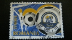 Stamps Romania -  FIFA