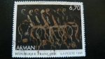 Stamps : Europe : France :  Arman
