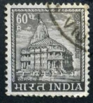 Stamps India -  Templo