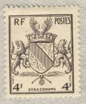 Stamps France -  Libération de Strasbourg