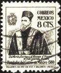 Sellos de America - México -  Virrey Martín Enríquez de Almanza organizó el servicio del Correo Mayor de Nueva España en 1580.
