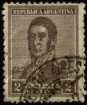 Sellos de America - Argentina -  Libertador San Martín.