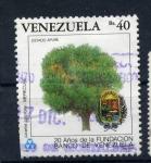 Stamps America - Venezuela -  20 años fundación banco venezuela