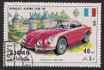 Stamps United Arab Emirates -  AJMAN - Vehículos
