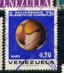 Stamps Venezuela -  X aniv. planetario Humbolot