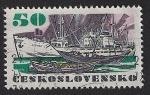 Sellos de Europa - Checoslovaquia -  Barcos