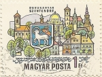 Stamps of the world : Hungary :  DUNAKANYAR SZENTENDRE