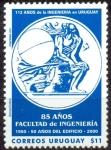 Sellos de America - Uruguay -  112 AÑOS DE LA INGENIERIA EN URUGUAY