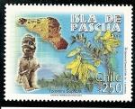 Stamps : America : Chile :  Isla de Pascua