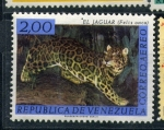 Stamps of the world : Venezuela :  jaguar