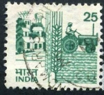 Stamps India -  Agricultura