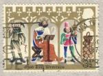 Stamps United Kingdom -  Christmas 1973  Good King Wenceslas
