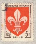 Stamps France -  Provinces - Lille