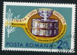 Sellos de Europa - Rumania -  Final Copa Davis '72